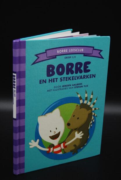 Kinderboekje groep 1-2 Borre en het stekelvarken