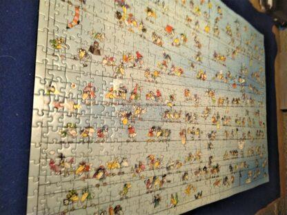 Legpuzzel met cartoon vogels