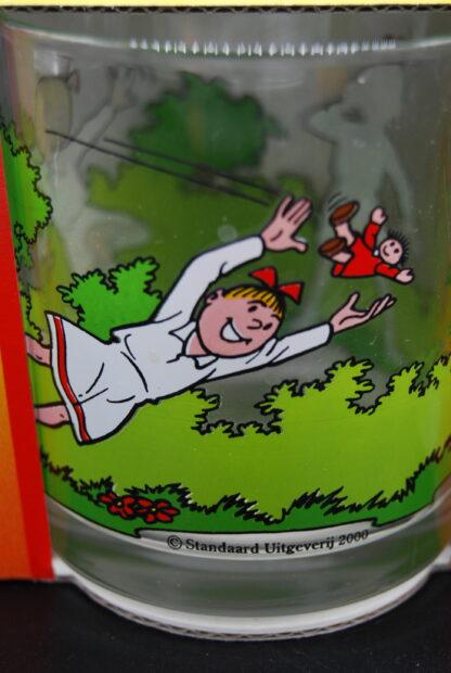 Limonadeglazen Suske en Wiske Albert Heijn collectors item