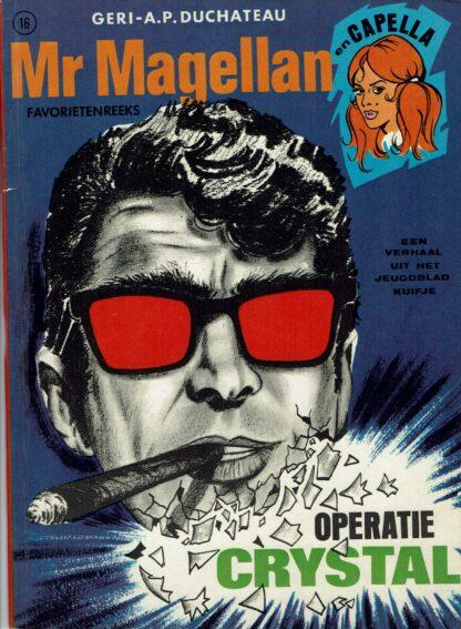 Mr Magellan - Operatie Crystal, stripverzamelaars