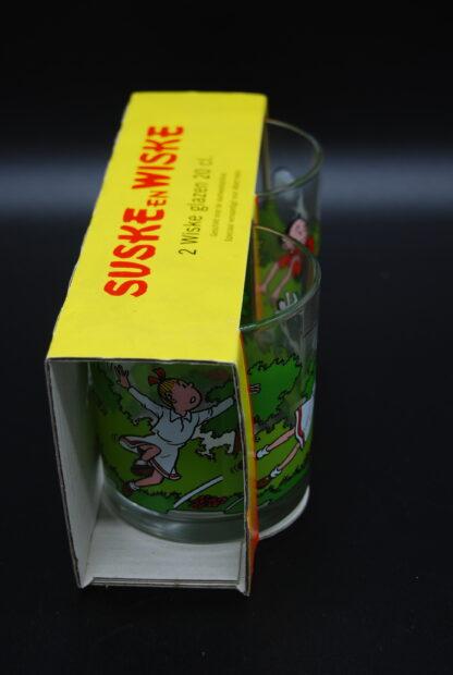 Suske en Wiske vezamelen- set glazen