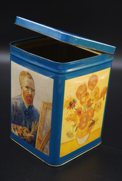 Tin can dutch painter Vincent van Gogh