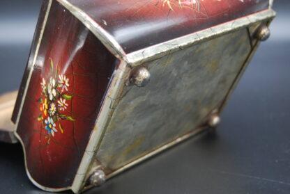 Vintage blik Pickwick-Douwe Egberts op bolpootjes