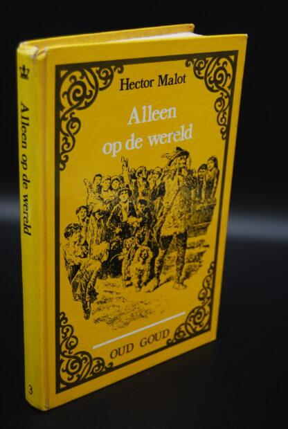Vintage jeugdboek Alleen op de wereld