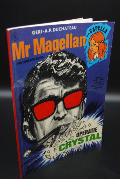 Vintage stripboek Mr Magellan-Operatie Crystal- 1e druk 1972