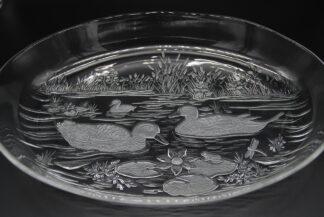 Wahlter glas gedecoreerd kistalglas
