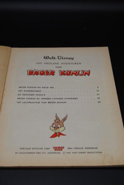 Walt Disney stripboek vintage