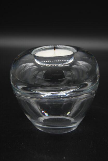 Waxinelichthouder en vaasje van mooi glas