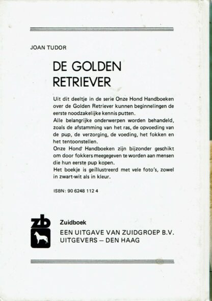 de golden retriever - Joan Tudor (beschrijving)