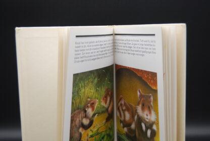 vintage dierenboek 1980 De Hamster