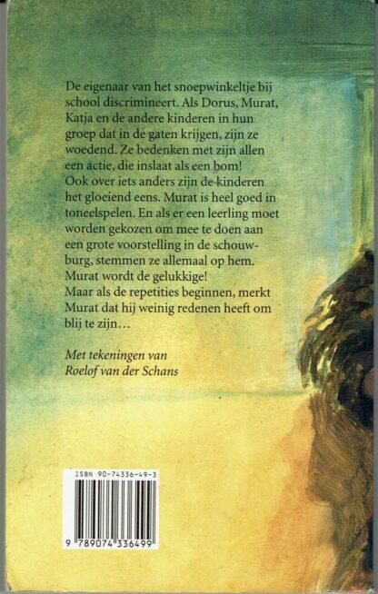 Bikkels (achterkant) -Tweedehands kinderboek Carry Slee