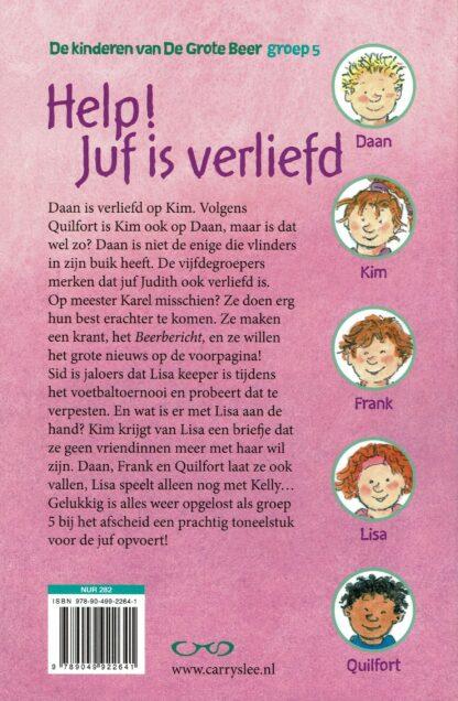 Carry Slee en Dagmar Stam - Help! Juf is verliefd (beschrijving)