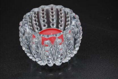 Glazen waxinelichthouder Sea Urchin