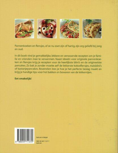 Heerlijk pannenkoeken en flensjes, Carine Buhmann(beschrijving)