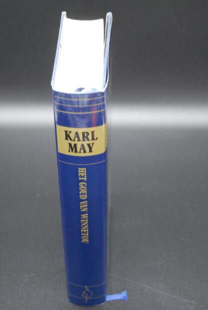 Het goud van Winnetou, Karl May, vintage jeugdboek 1989