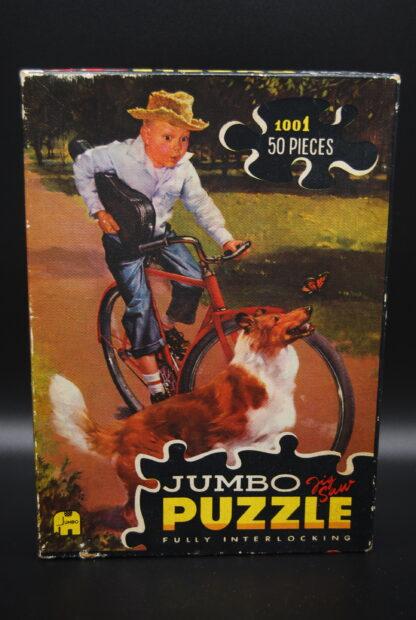 Jaren 60 puzzel Jumbo 1001-fully interlocking