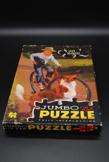 Jumbo vintage jigsaw puzzle fully interlocking