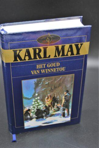 Karl May-Het goud van Winnetou-vintage kinderboek 1989