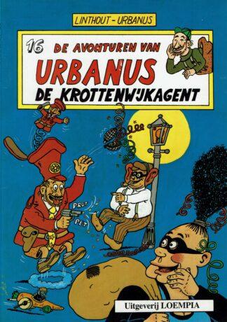 Urbanus de krottenwijkagent (deel 16)- 1e druk 1987