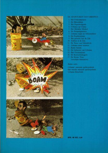 Urbanus de krottenwijkagent (deel 16) (achterkant)