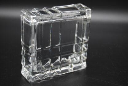 Vintage art deco asbak glas