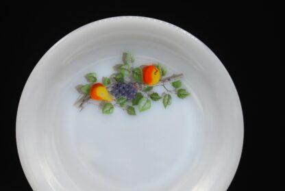 Vintage ontbijtbordjes Arcopal Fruits de France