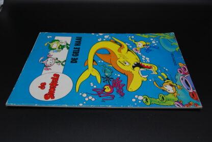 Vintage stripboek De snorkels 1- De gele haai- 1e druk 1986