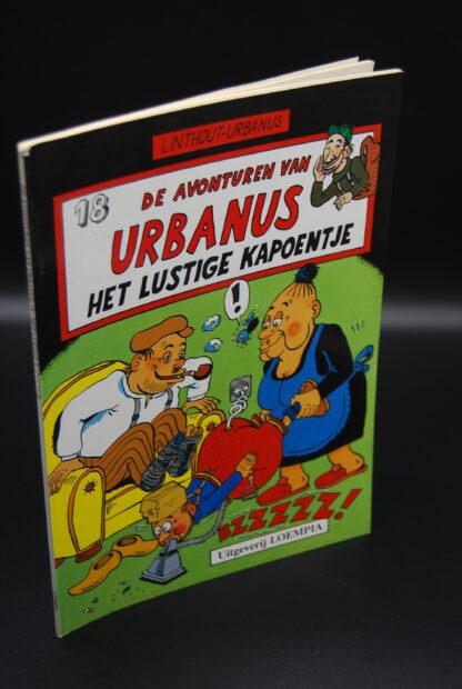 Vintage stripboek Urbanus-het lustige kapoentje