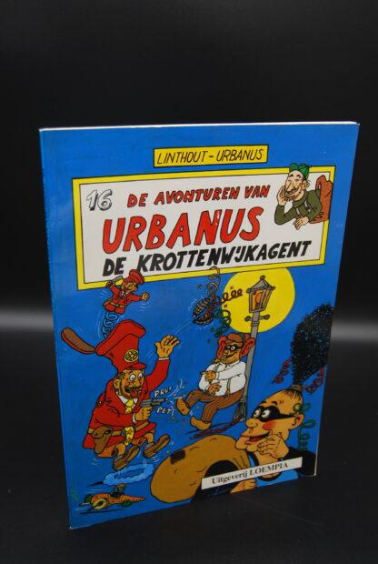Vintage stripboek Urbanus nr 16, 1e druk 1987