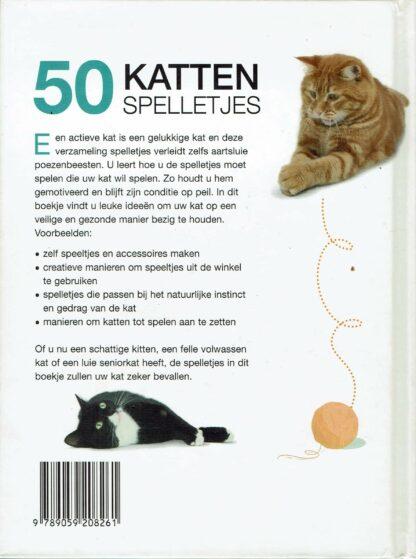 50 kattenspelletjes - Jackie Strachan (achterkant)