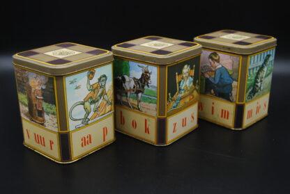 Aap Noot Mies blikjes, vintage