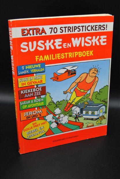 Familiestripboek 1997-inclusief de 70 stickers-Suske en Wiske