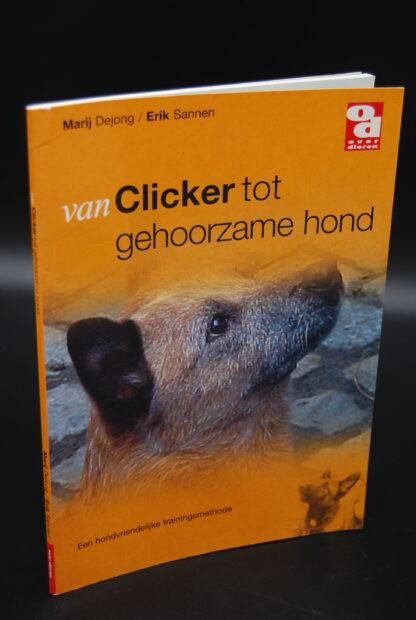 Hondentraining boek-van Clicker tot gehoorzame hond