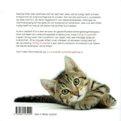 Kattig of poeslief Opvoedgids voor kittens -Liesbeth Puts