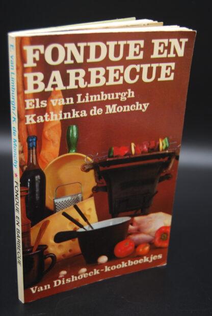 Kookboek Fondue en Barbecue, Els van Limburgh-vintage