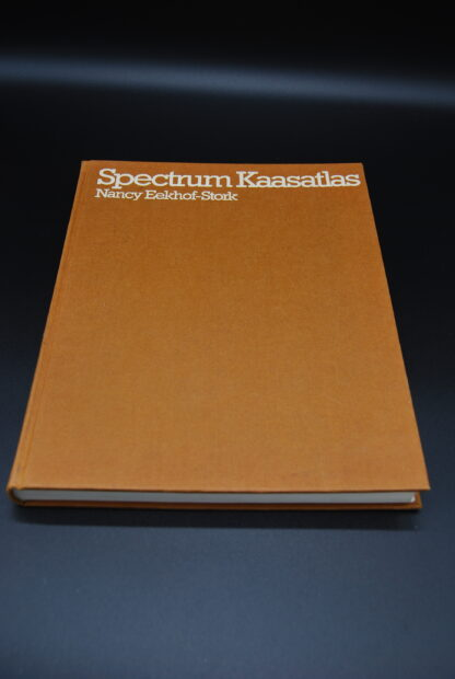 Spectrum Kaasatlas, vintage boek 1e druk 1976
