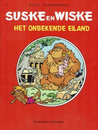 Het onbekende eiland - Suske en Wiske