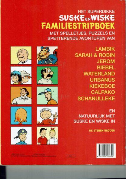 Suske en Wiske - familiestripboek 1997- ISBN 9789002201394