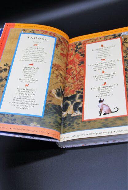 Tweedehands kattenboek-verzorging,ehbo,gezondheid,rassen etc