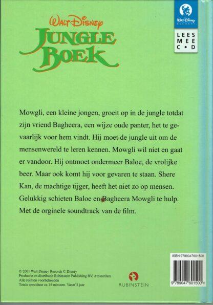 Tweedehands kinderboek-Walt Disney - Jungleboek met CD
