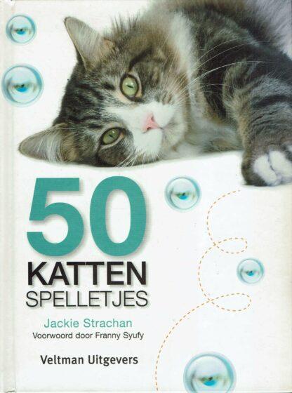 50 kattenspelletjes - Jackie Strachan-9789059208261