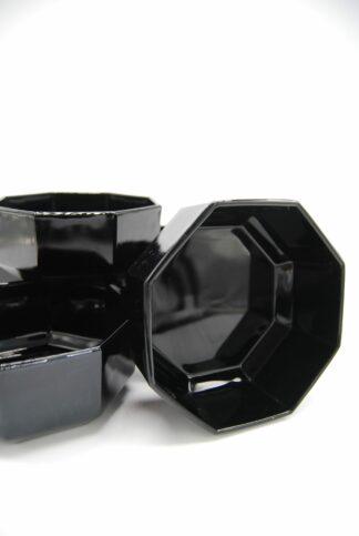Arcoroc France zwarte schaaltjes