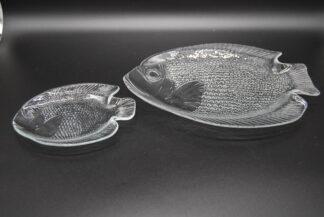 Arcoroc Poisson set-schaal 26cm en bordje 16cm