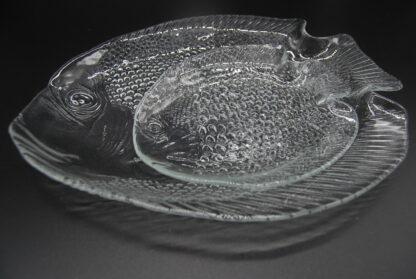 Arcoroc visschaal 26 cm en bordje 16cm- setprijs