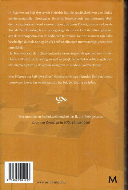 Biljarten om half tien - Heinrich Böll-9789029091213