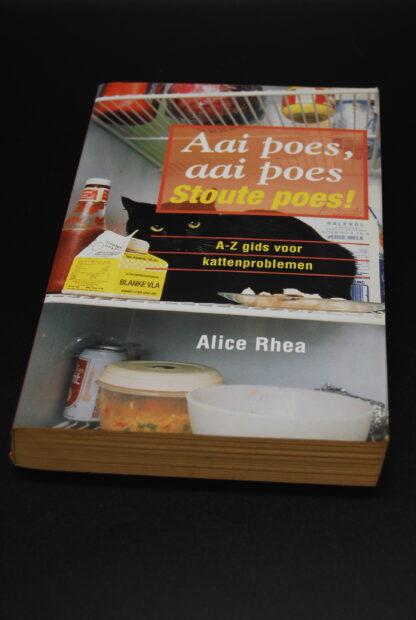 Boek over kattenprobleemgedrag- Alice Rhea-9789055016068