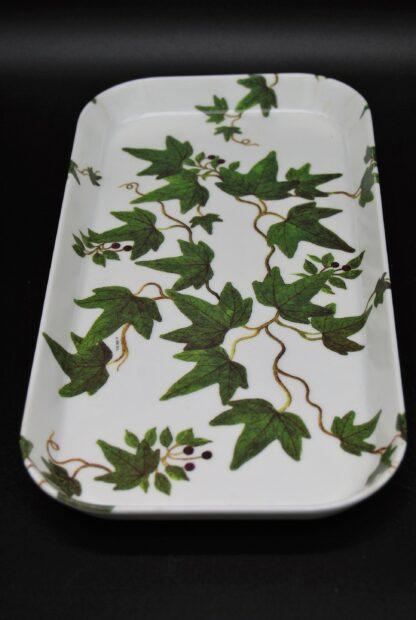 Dienblad-serveerblaadje met afbeelding klimop van Mebel Italy