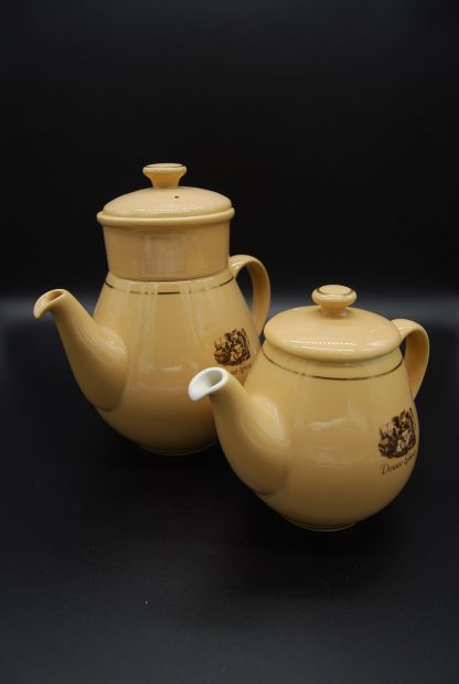 Vintage Douwe Egberts Koffie en theepot