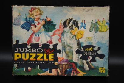 Jumbo puzzel nr 1006, 1963, vintage