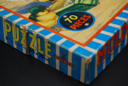 Mulder jigsaw puzzle-vintage